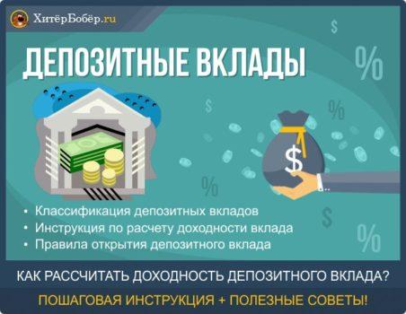 Проценты по вкладам., калькулятор онлайн, конвертер
