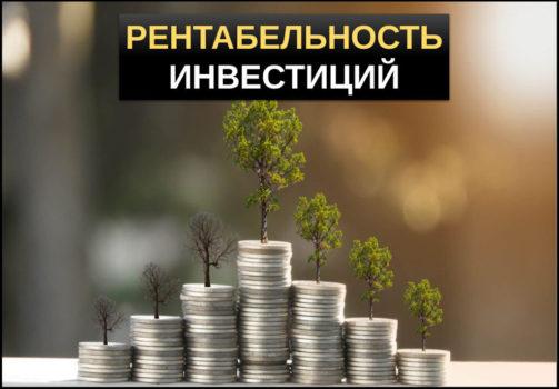 Рентабельность инвестиций: что это, расчет индекса доходности по формуле, как правильно оценить рентабельность вклад, положительные и отрицательные стороны