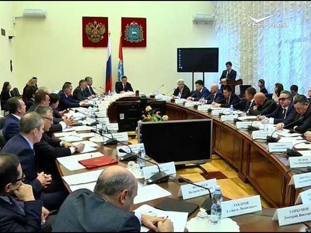 Дмитрий Азаров: Регион должен войти в топ-5 по инвестиционной привлекательности - Волга Ньюс